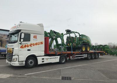 Transport de Matériel agricole